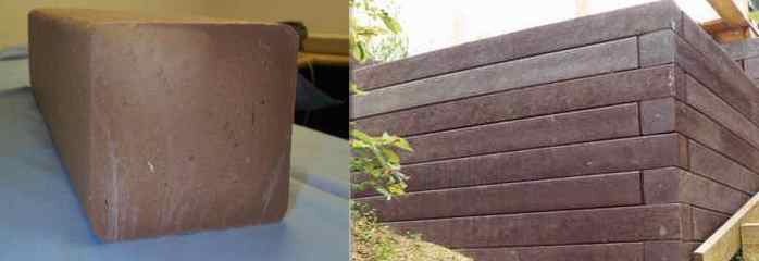Plastic Railroad Ties Of Plastic Lumber Plastic Beams Posts Panels