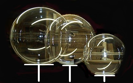 Acrylic Spheres Globes Balls From Complex Plastics Toll