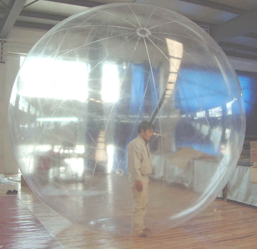 Inflatable Spheres Balls Globes Orbs From Complex Plastics